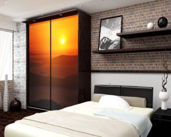 Шкафы-купе в спальню